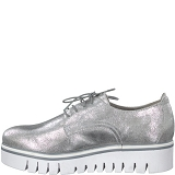 BANGKOK 23710-30-CH. A LACETS:SILVER METALL/