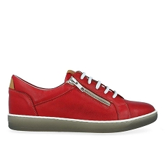 CT OX BASE 8225:ROUGE/CUIR