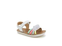 GOA MULTI<br>WHITE FLOWER CUIR