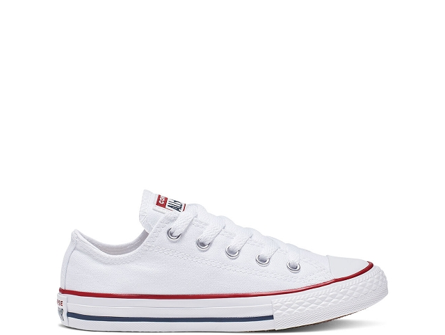 Converse lacet ct ox junior blanc