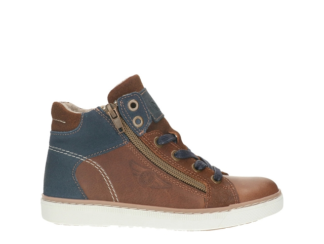Bulllboxer bottines agm 526 cognac