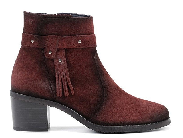 Dorking boots 8390 bordeaux